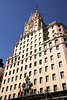 The Telefonica building on Gran Via Madrid Spain