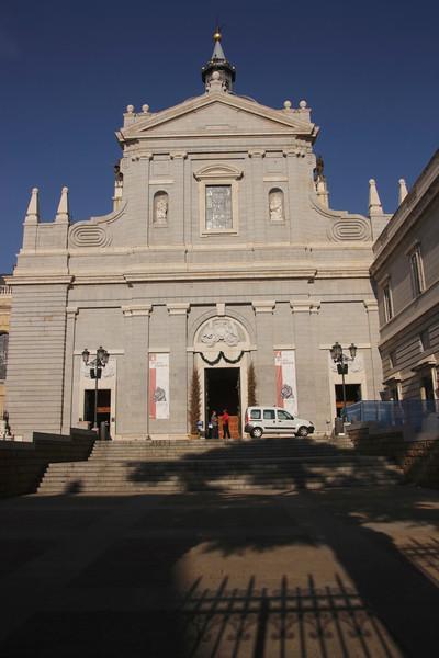 Catedral de la Almudena Madrid Spain