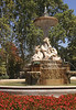 Fountain in Parque del Retiro Madrid Spain