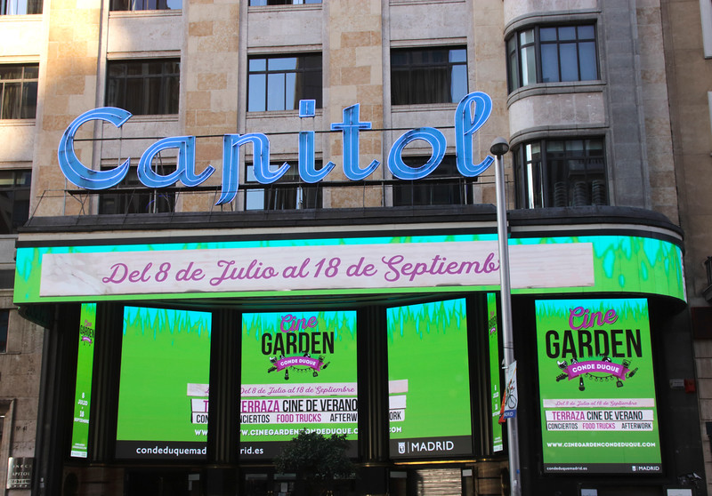 Capitol Cinema Gran Via Madrid Spain