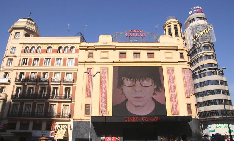 Art deco Cine Callao building at Plaza de Callao Madrid Spain