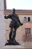 Don Alvaro de Bazan statue Plaza de la Villa Madrid Spain