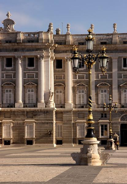 Plaza de Armas Palacio Real Madrid Spain