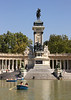 Alfonso XII Monument at Parque del Retiro Madrid Spain