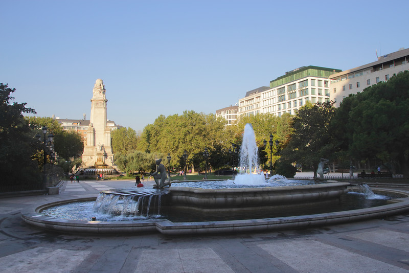Plaza de Espana Madrid Spain