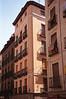 Buildings in Calle de Toledo Madrid