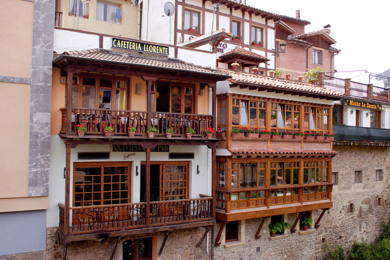 Cafeteria Llorente at Potes Cantabria Spain