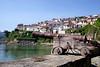 Lastres fishing village Asturias Spain