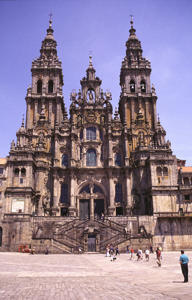 Cathedral of Santiago de Compostela Spain