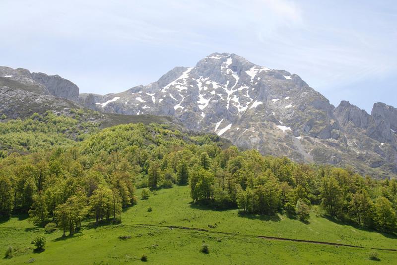 Picos de Europa Asturias Spain view from Sotres