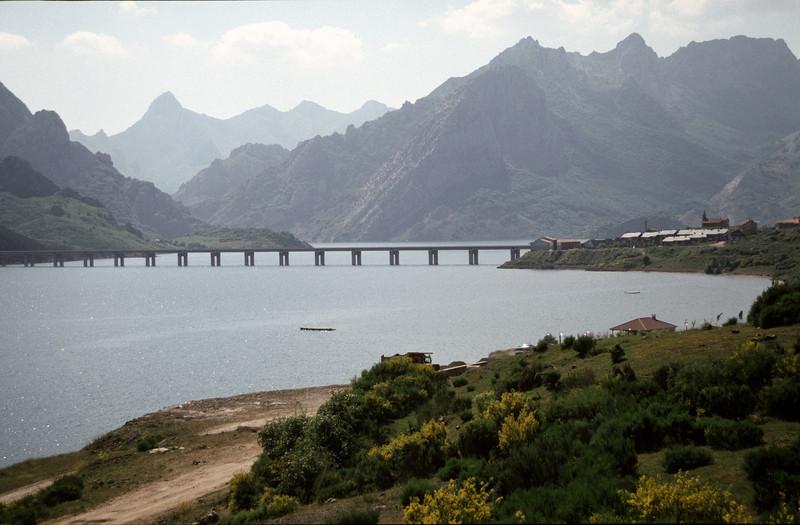 Embalse de Riano reservoir Castilla y Leon Spain