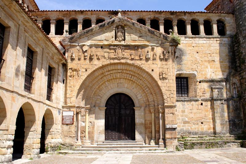 Colegiata de Santa Juliana Santillana del Mar Spain