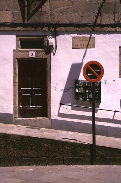 Calle de San Francisco Santiago de Compostela Spain