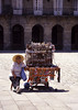 Street vendor Santiago de Compostela