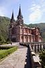 Basilica de Covadonga Asturias Spain