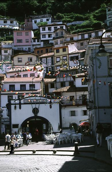 Cudillero fishing village Asturias Spain
