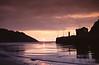 Sunset Ribadesella Asturias Spain