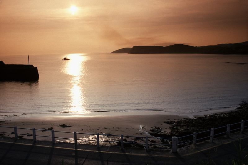 Sunset at Comillas Cantabria Spain