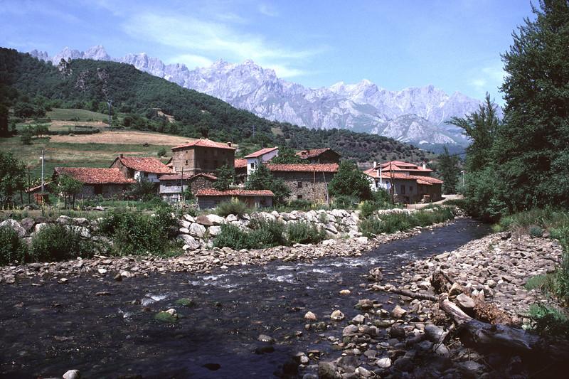 Farm Buildings Picos de Europa region Cantabria