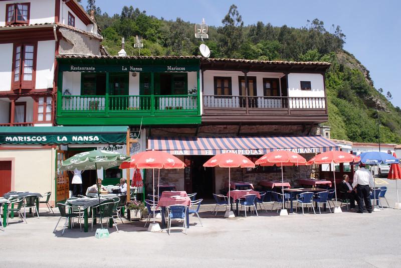 Cafe at San Miguel Asturias Spain