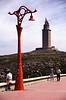 Torre de Hercules lighthouse La Coruna Galicia Spain