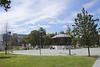 Bandstand in Jardines de Pereda Santander Cantabria Spain