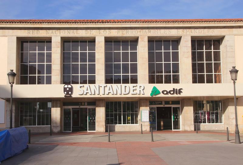 ADIF railway station Santander Cantabria Spain
