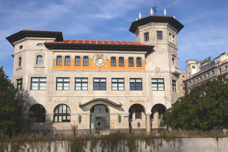 Main Post Office building Santander Cantabria Spain