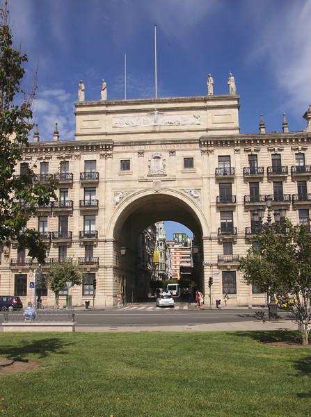 Banco de Santander in Santander Cantabria Spain