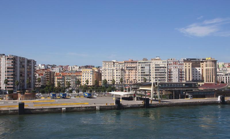 Ferry port at Santander Cantabria Spain