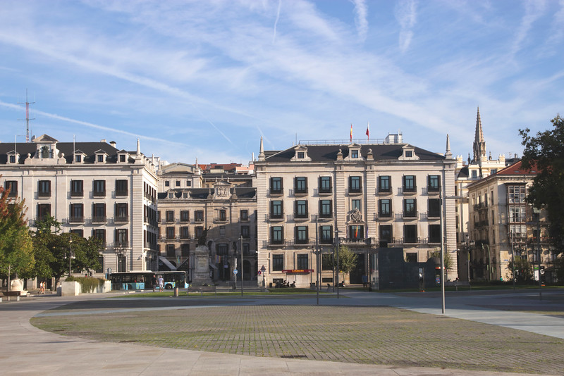 Government buildings Calle Calvo Sotelo Santander Spain