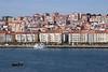 Seafront cityscape Santander Cantabria Spain