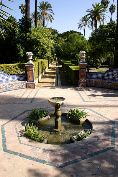 Gardens of the Real Alcazar Seville