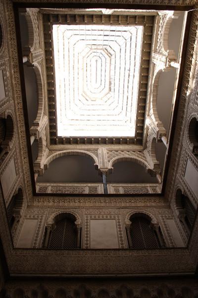 Patio de las Munecas in the Real Alcazar Seville