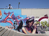 Graffiti at the Puente de Chapina bridge Seville