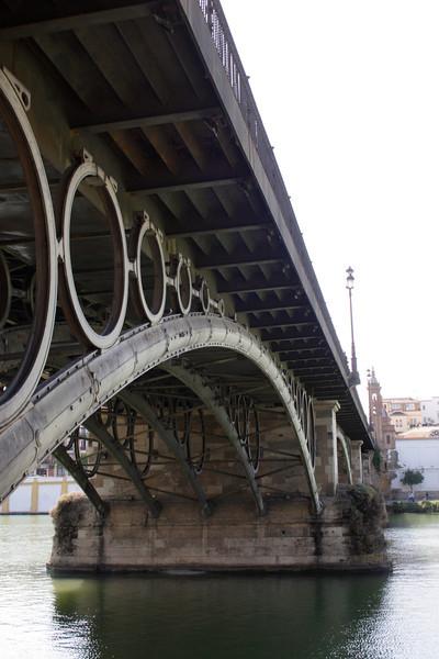 Puente de Isabel II Bridge Seville