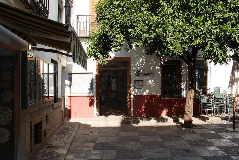 Santa Cruz district Seville Spain
