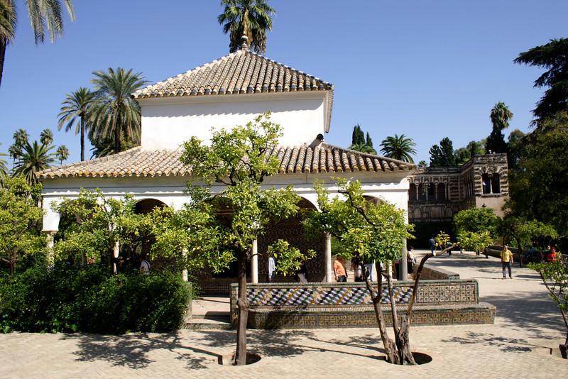 Real Alcazar Gardens Seville