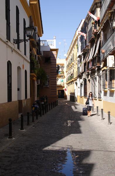 Street in the Triana quarter Seville