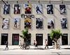 Facade of fnac music store Seville