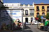Fruit delivery lorry Triana quarter Seville October 2007
