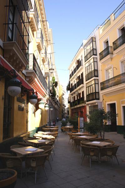 Cafe in Santa Cruz District Seville