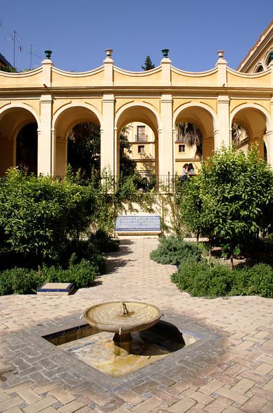 Jardin de Troya in the Real Alcazar Seville