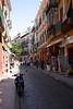Street in Santa Cruz district Seville