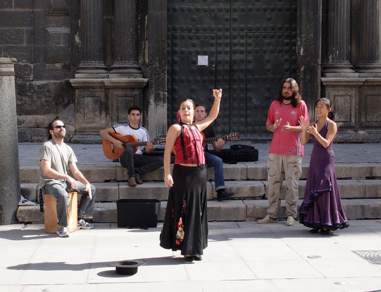 Flamenco dance Seville