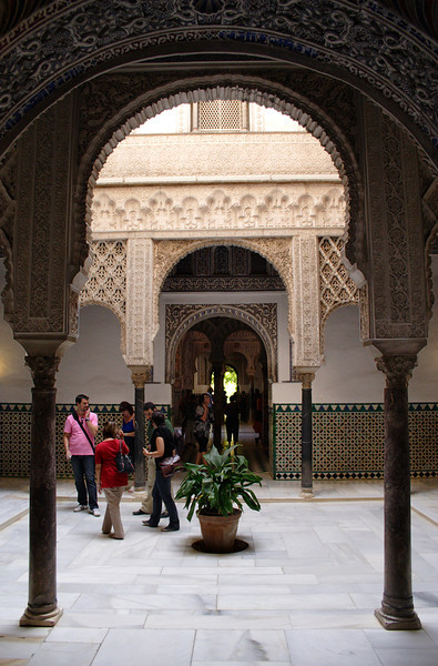 Patio de las Munecas in the Real Alcazar Seville