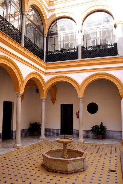 Within the Palacio Pedro I of the Real Alcazar Seville