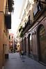 Alley in Santa Cruz District Seville
