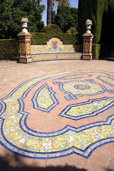 Ornamental Gardens of the Real Alcazar Seville