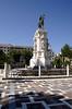 Plaza Nueva and monument of Fernando III Conquistador Seville